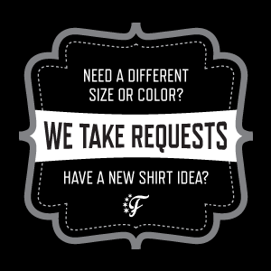 Have a shirt request for your favorite NFL or MLB player? Contact Fantag, the leader in fantasy sports apparel.