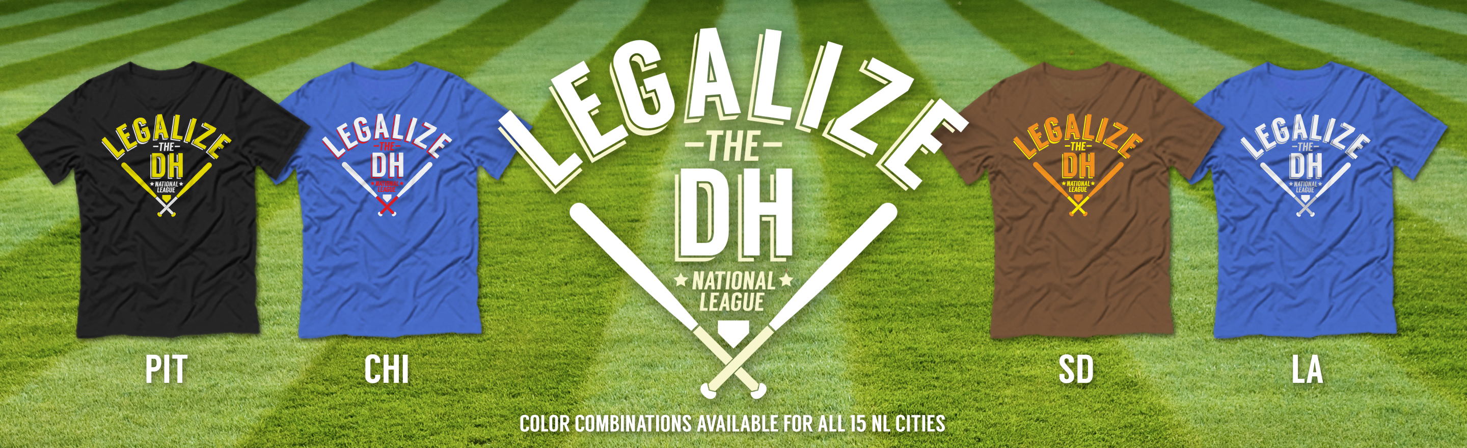 Legalize the DH